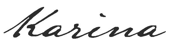 Assinatura Karina